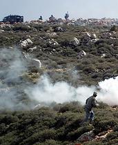 Avoiding smoke bomb