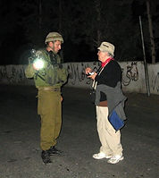 Negotiating with soldier