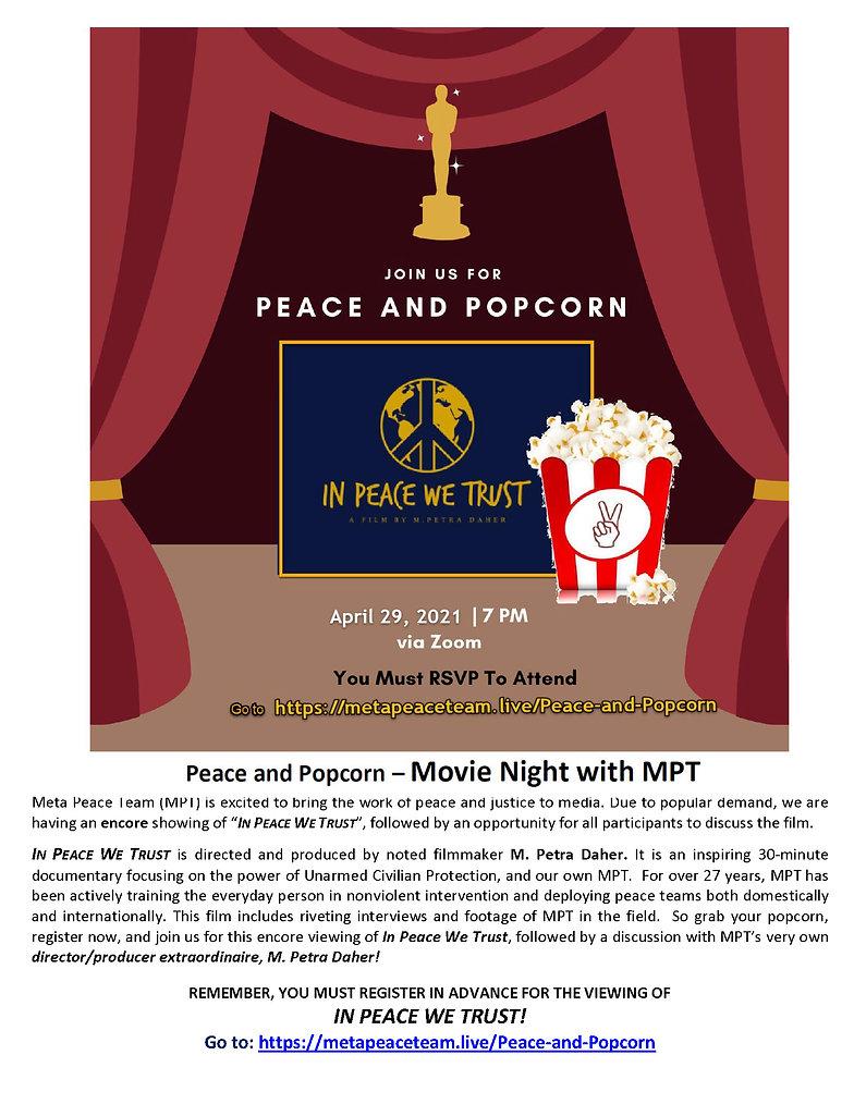 In Peace We Trust Promotion_encore-flyer