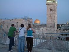 Team in Jerusalem