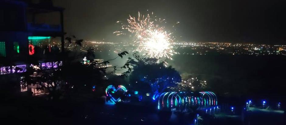 2020年 桃園大古山海灣星空跨年現場