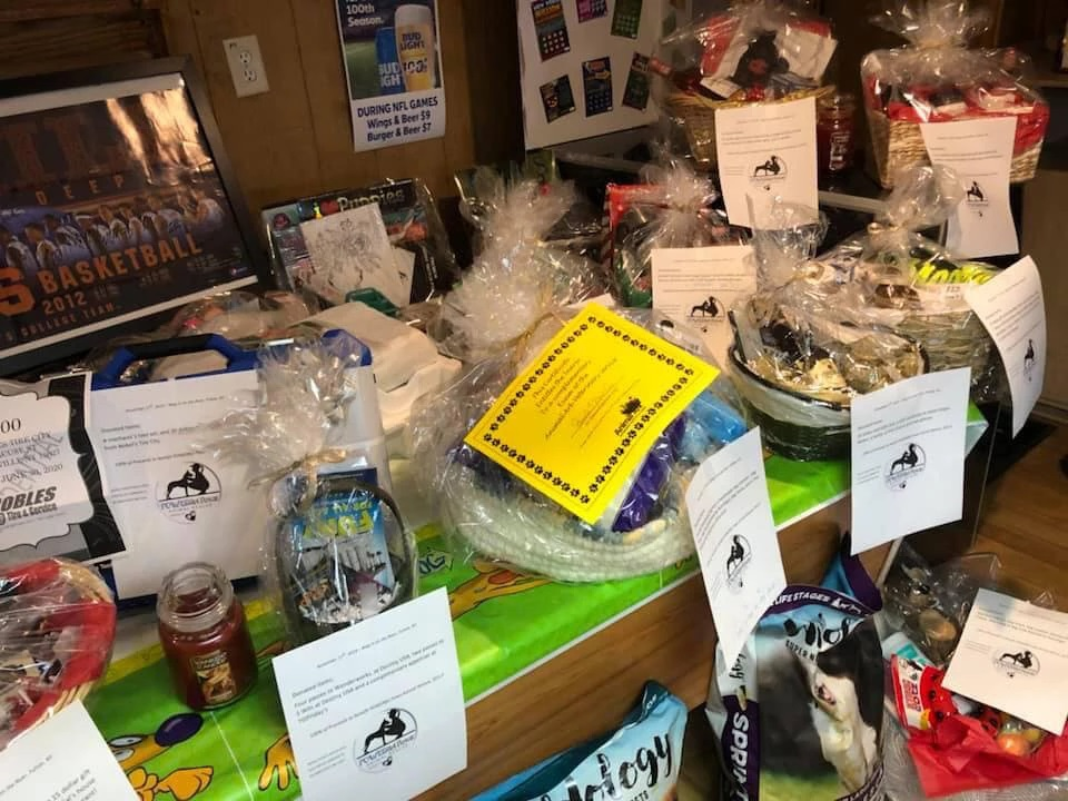 So Many Amazing Raffle Items Donated!