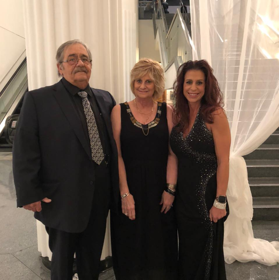 Board Member Michele and her Wonderful Parents