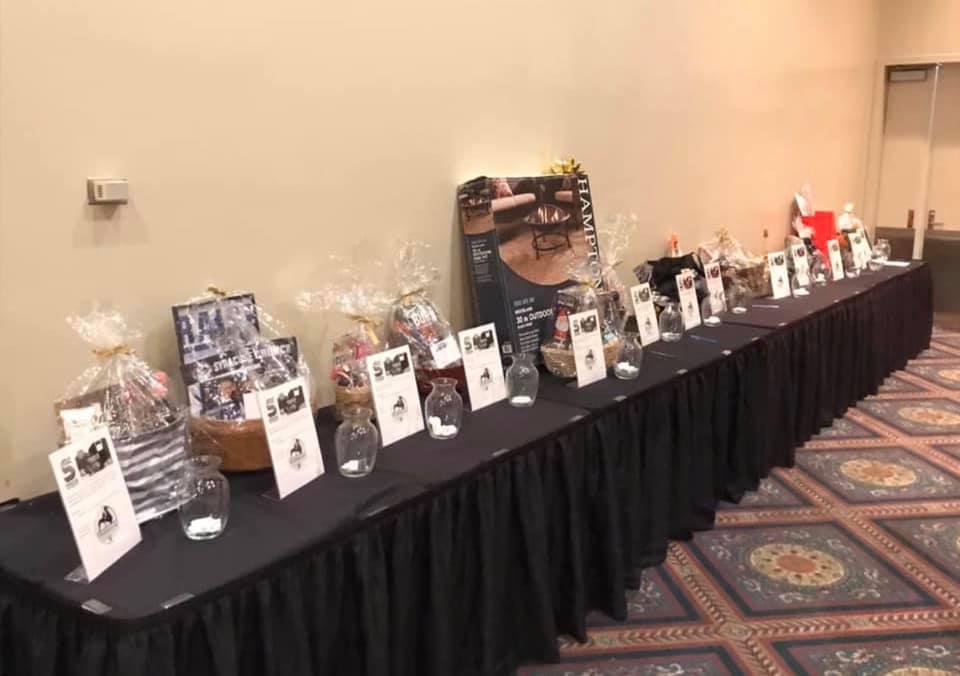 Amazing Raffle Items Donated