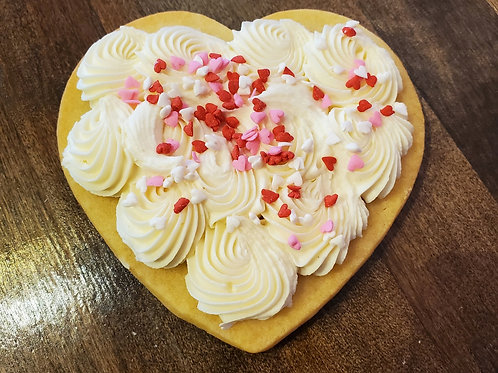 Buttercream Cut out cookie