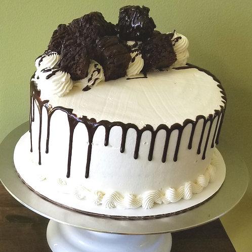 8 inch Chocolate Brownie Cake