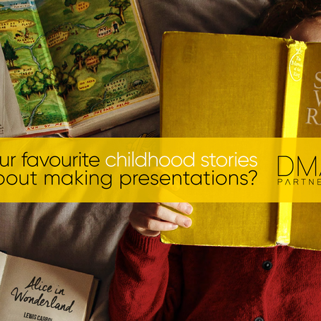 What can our favourite childhood stories teach us about making presentations?