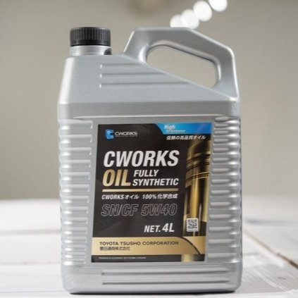 4L CWorks 5W40 Synthetic Engine Oil