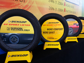 Rolling with Dunlop's New SP Sport Le Mans (LM) 705 Tyres!