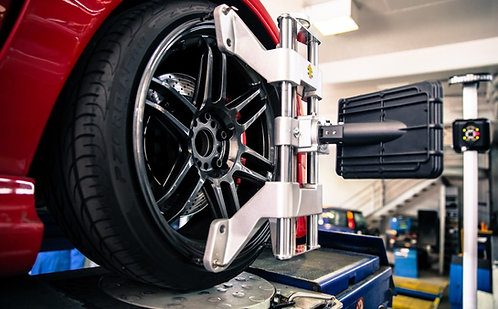 Wheel Alignment - Mercedes