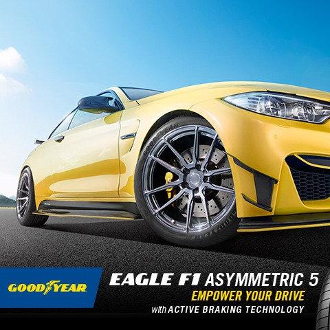 265/35R18 Goodyear F1 Asymmetric 5 EU