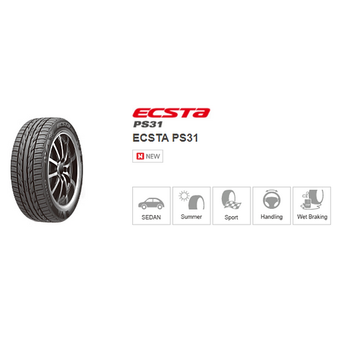 195/60R15 Kumho Ecsta PS31 China