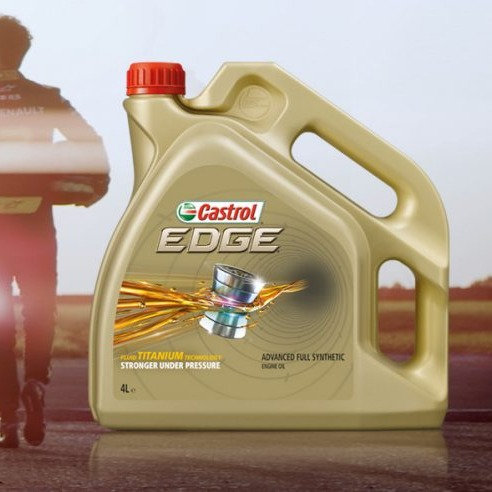 4L Castrol 5W40 Synthetic Engine Oil