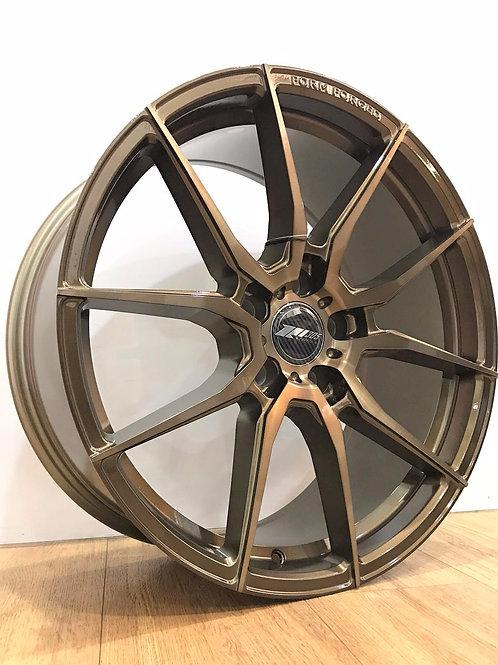 19x8.5 305Forged Wheels Flow Technik FT104 Metallic Bronze