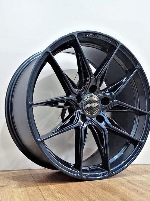 18x8.5 305Forged Wheels Flow Technik FT113 Marine Blue