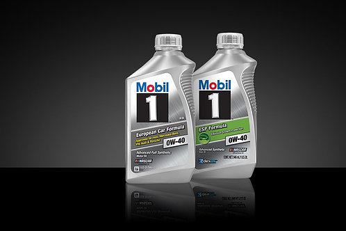 Mobil Synthetic Engine Oil 0W40