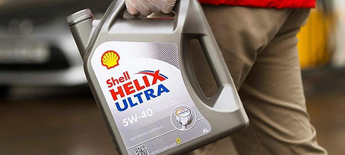 4L Shell 5W40 Synthetic Engine Oil