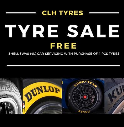 Tyre sale Singapore