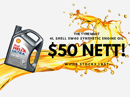 Shell Synthetic Engine Oil 5W40