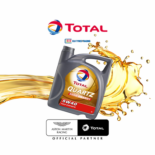 4L Total 5W40 / 5W30 Synthetic Engine Oil