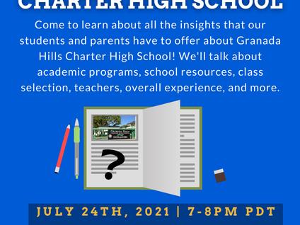 School Series 2021- Granada Hills Charter High School