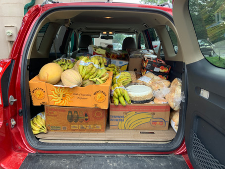 ST. MARTIN'S FOOD PANTRY REPORT 8/30/2021