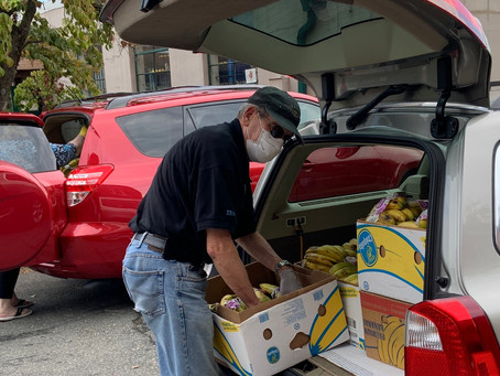 ST. MARTIN'S FOOD PANTRY REPORT 9/6/2021