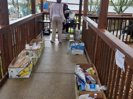 APRIL 13, 2021 -FOOD PANTRY REPORT