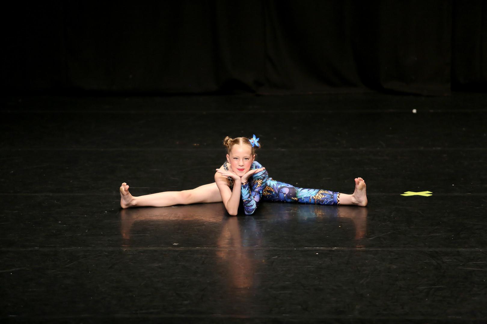 Ava, Age 8