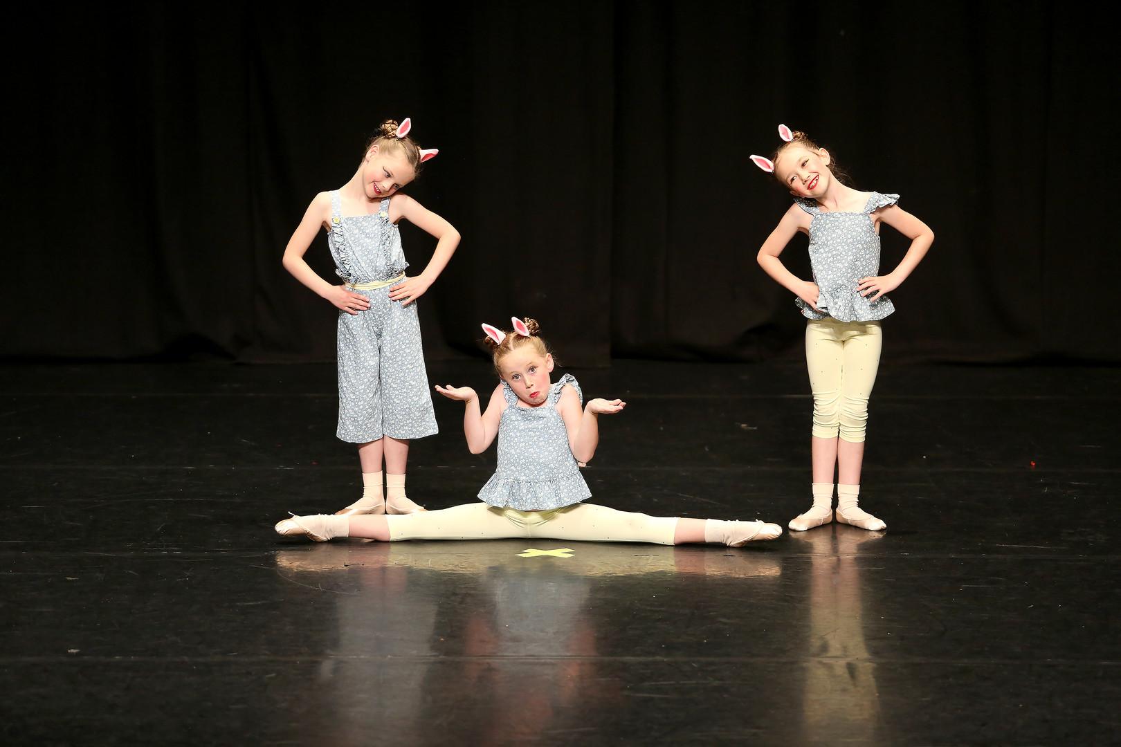 Hazel, D'Lainie & Cora, Age 6