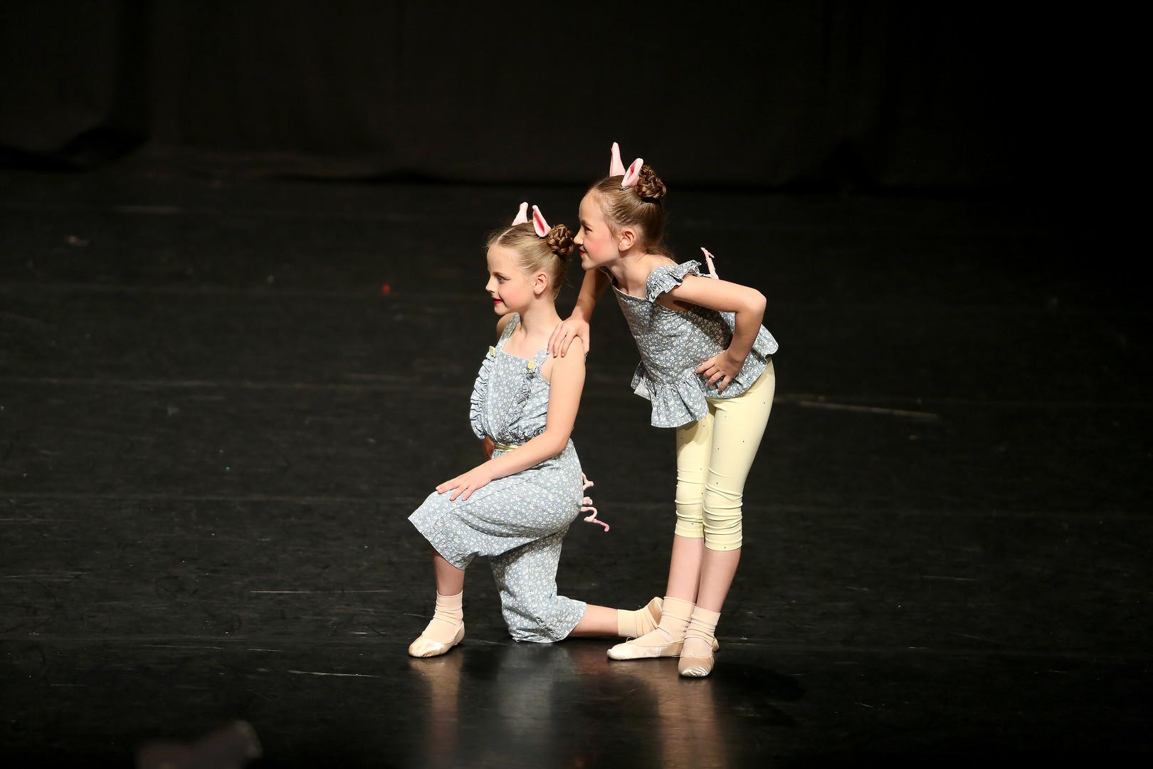 Hazel & Cora, Age 6