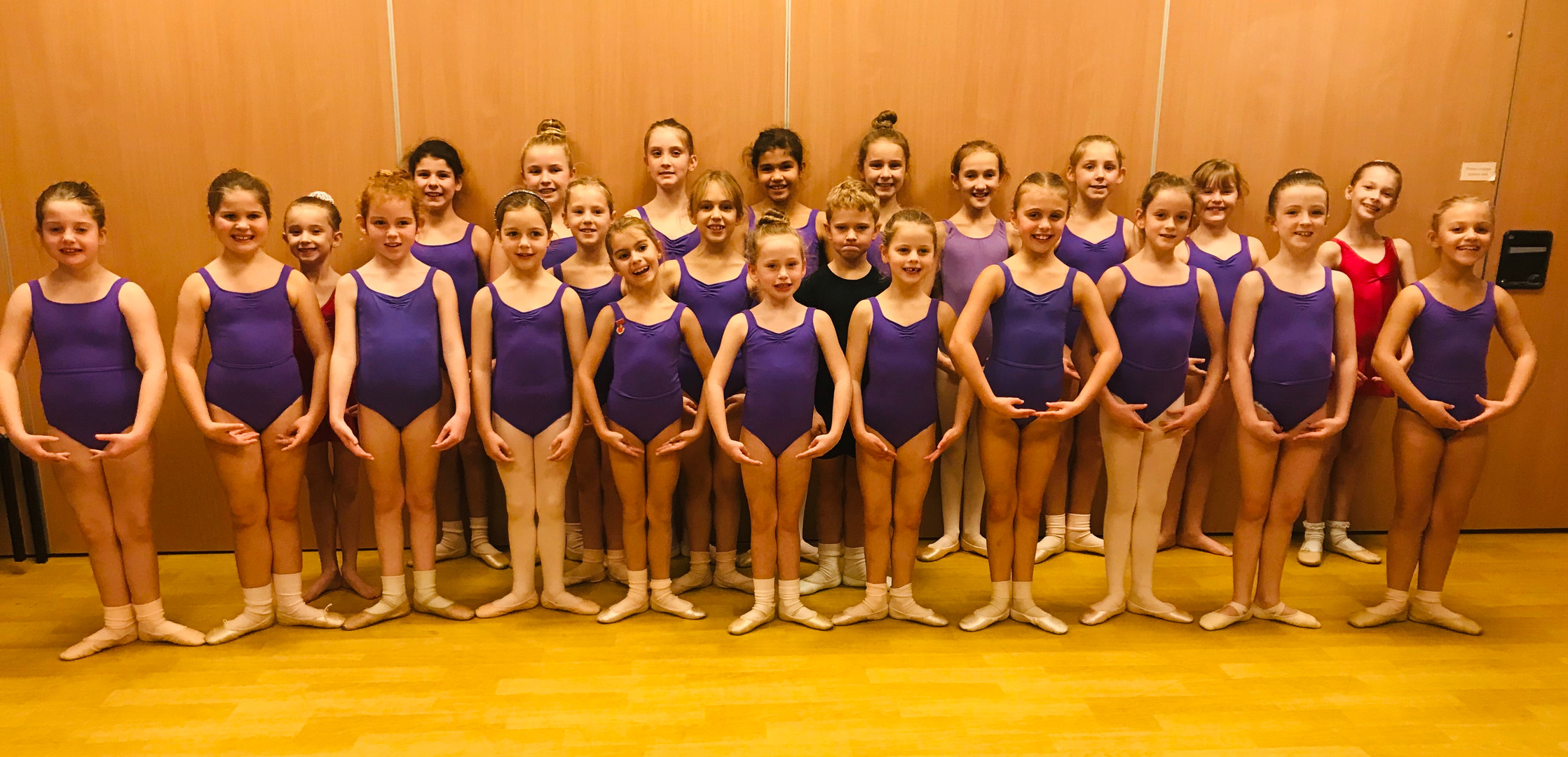 RAD Grade 1 & 2 Ballet Students