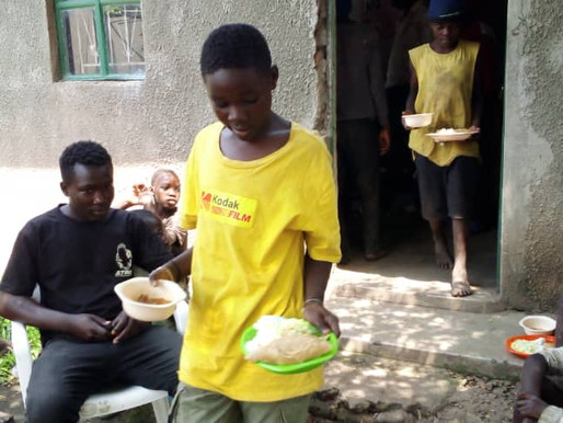 Food Relief street boys