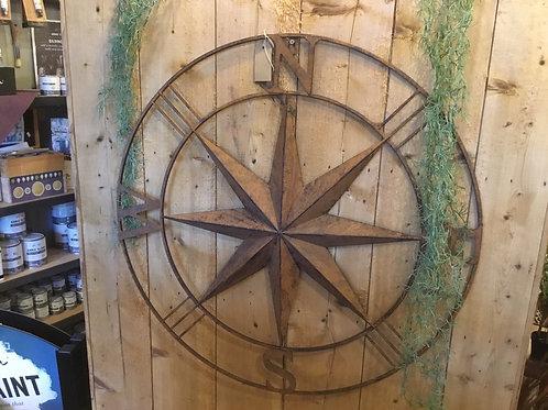 Rusty compass
