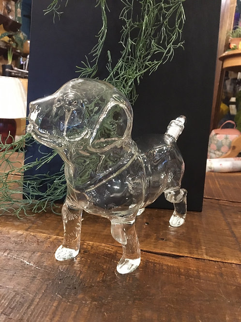Decanter dog glass