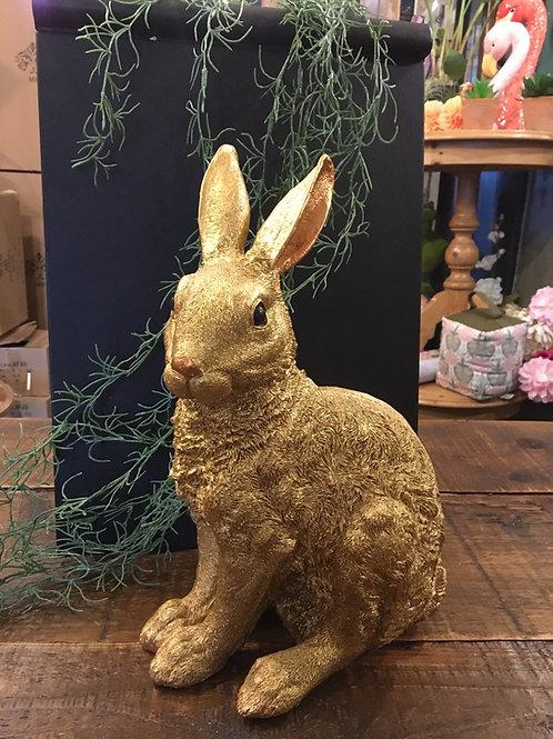 Rabbit large gold