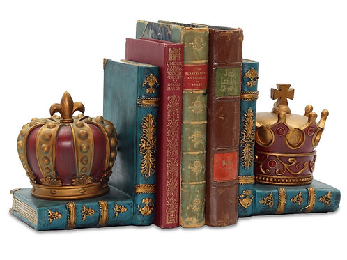 Crown bookends