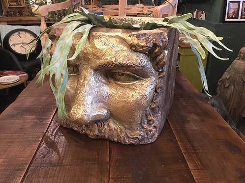 Extra large gold head planter