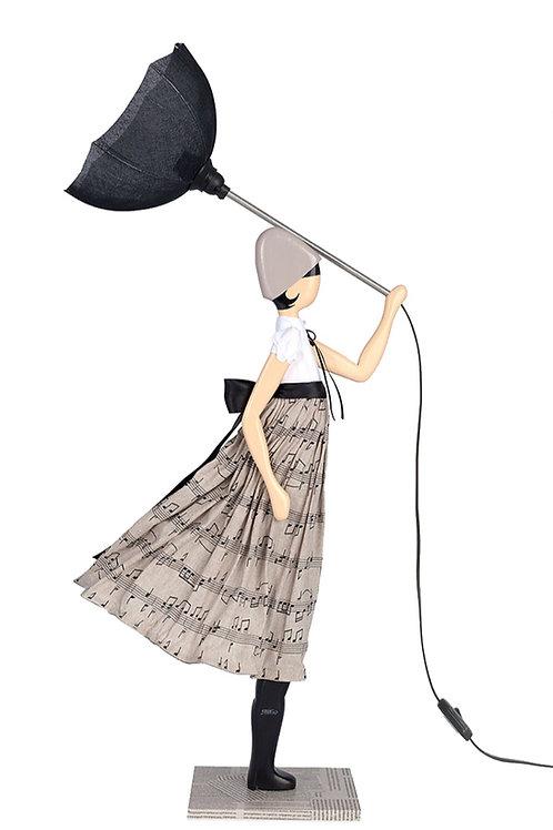 Lamp Georgia in the wind