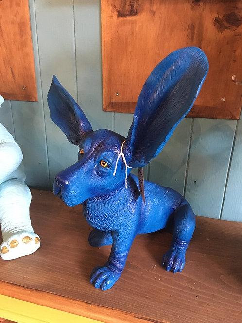 Surprised Bassett Blue