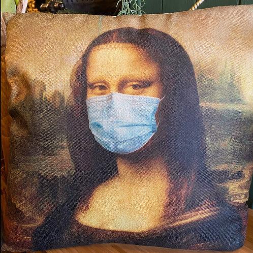 Cushion Mona Lisa stay safe