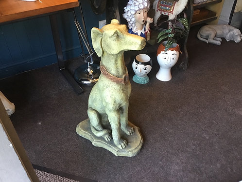 Ex large dog statue