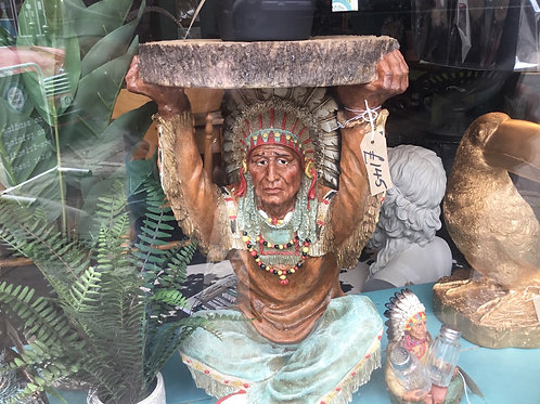 Indian chief coffee table