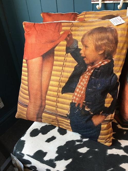 Cheeky boy cushion