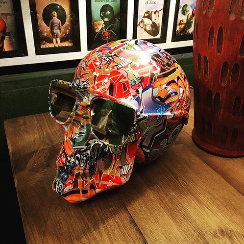 Large Graffitti skull