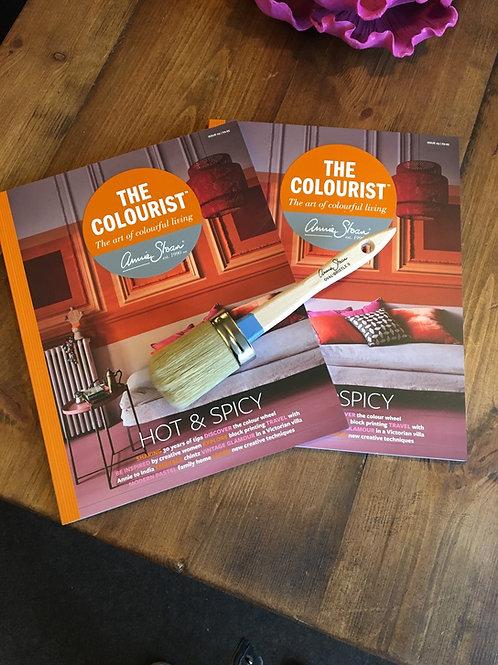 Annie Sloan The Colourist quartazine