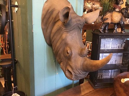 Large rhino head