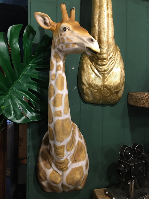 Giraffe wall decor natural
