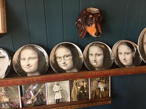 Mona Lisa plates
