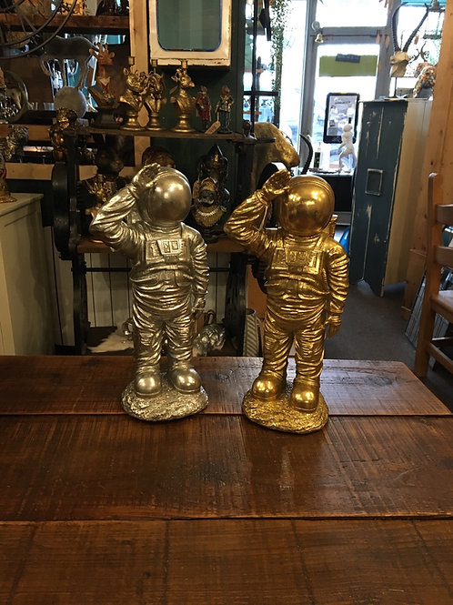 Astronaut (gold or silver)